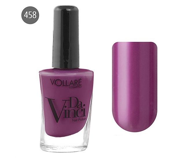 Vollare Лак для ногтей Da Vinci 11мл №458