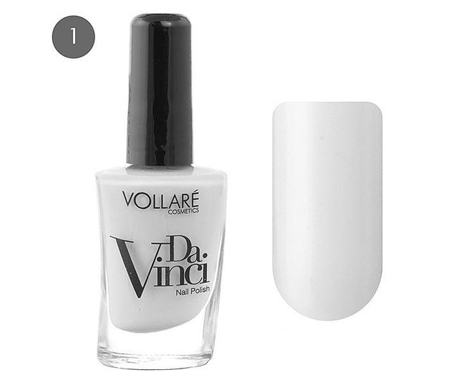 Vollare Da Vinci Лак для ногтей 11мл №001