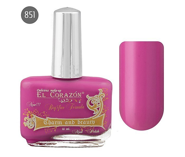 El Corazon Лак для ногтей Charm & Beauty 16мл №851