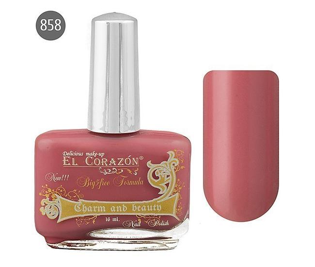 El Corazon Лак для ногтей Charm & Beauty 16мл №858