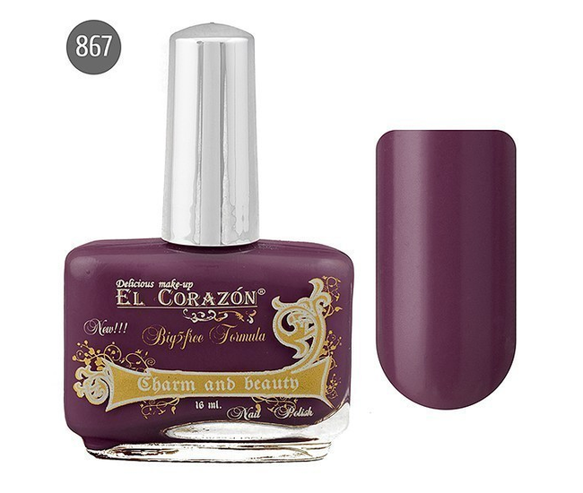 El Corazon Лак для ногтей Charm & Beauty 16мл №867