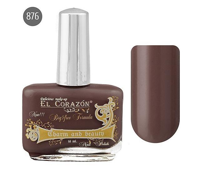 El Corazon Лак для ногтей Charm & Beauty 16мл №876