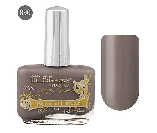 El Corazon Лак для ногтей Charm & Beauty 16мл №890