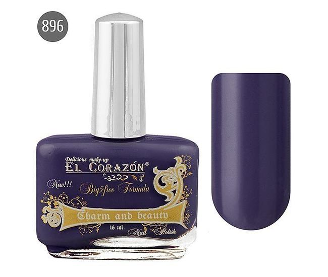 El Corazon Лак для ногтей Charm & Beauty 16мл №896