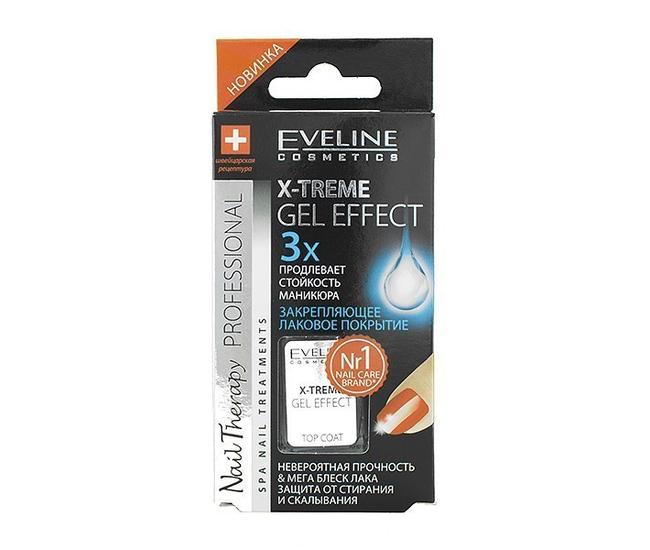Eveline Nail Therapy 12мл X-treme gel effect зекрепляющее лаковое средство