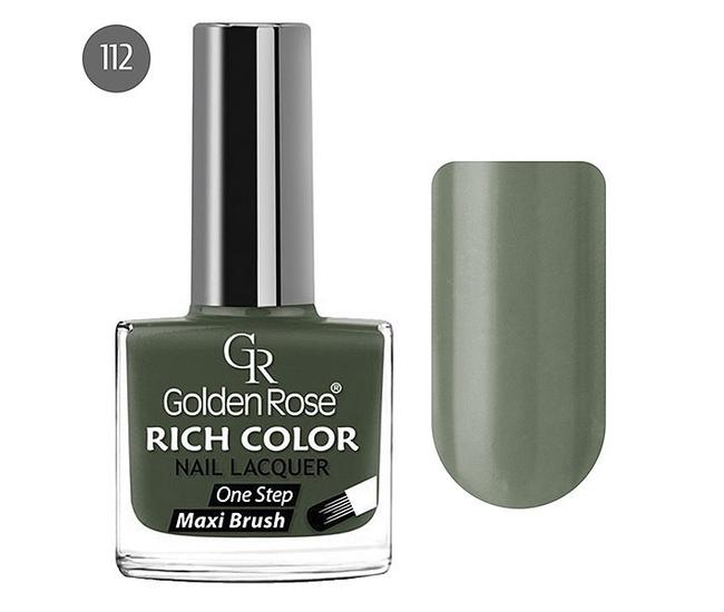 Golden Rose Лак для ногтей Rich Color 10.5мл №112