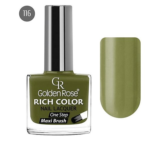 Golden Rose Лак для ногтей Rich Color 10.5мл №116