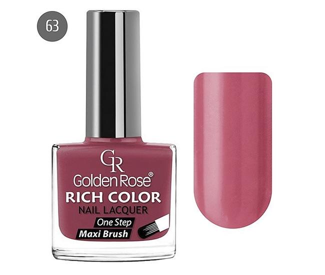 Golden Rose Лак для ногтей Rich Color 10.5мл №63