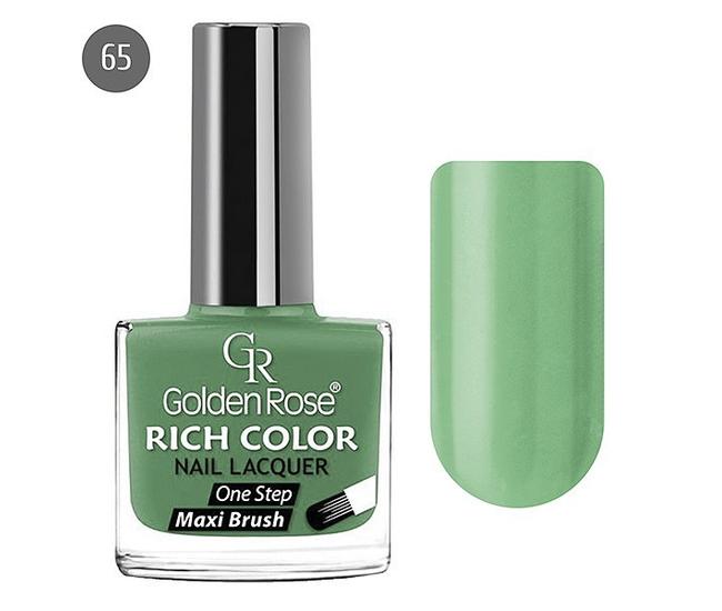Golden Rose Лак для ногтей Rich Color 10.5мл №65