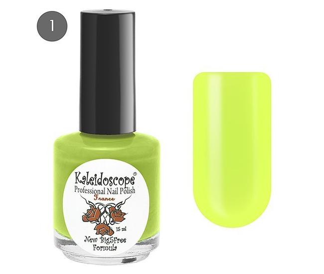 Лак для ногтей Kaleidoscope Яркая Я №01 на карнавале (жёлтый) 15мл