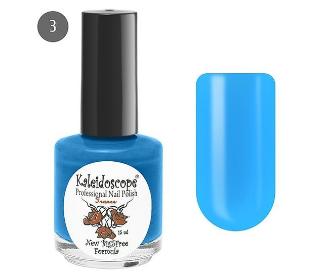 Лак для ногтей Kaleidoscope Яркая Я №03 на пляже (голубой) 15мл