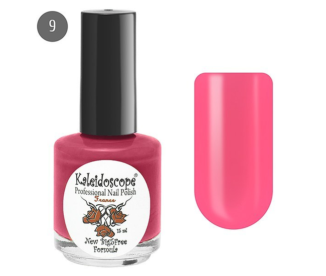 Лак для ногтей Kaleidoscope Яркая Я №09 на свидании (тёмно-розовый) 15мл