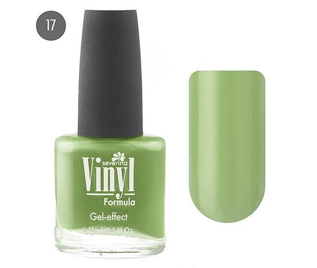 Severina Лак для ногтей ''Vinyl'' 15мл №17