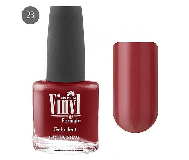 Severina Лак для ногтей ''Vinyl'' 15мл №23