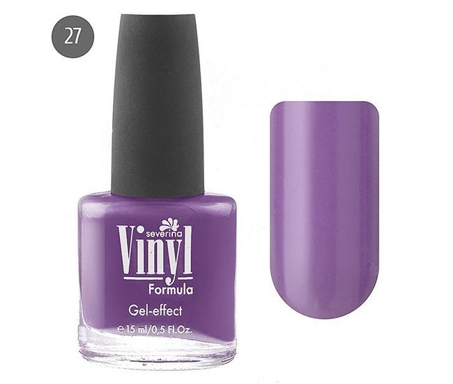 Severina Лак для ногтей ''Vinyl'' 15мл №27