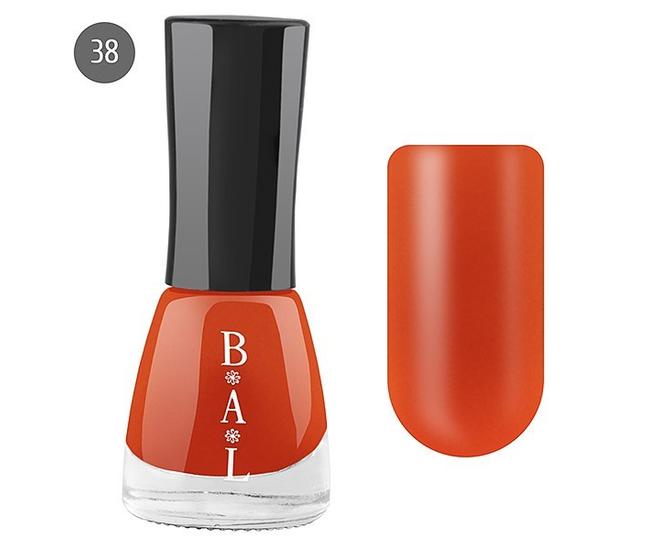 Bal Лак для ногтей 6мл №38 кораллово-красный матовый