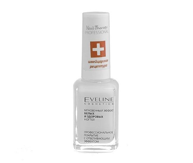 Eveline Nail Therapy 12мл мгновенный эффект белых и здоровых ногтей
