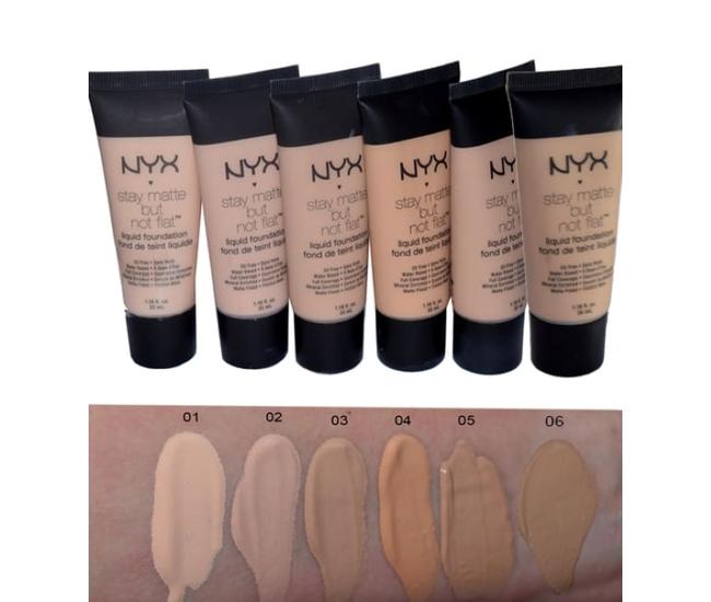 Тональный крем NYX Stay matte but not flat 30 ml №6